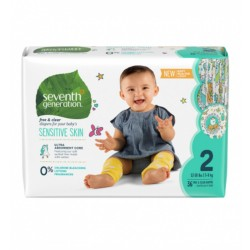 Seventh Generation |Free and Clear Baby Diapers Stage 2 image here
