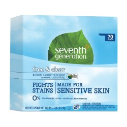 Seventh Generation |Natural Powder Laundry  Free and  Clear image here