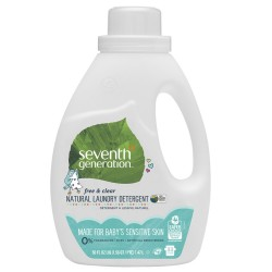 Seventh Generation |Baby Liquid Laundry 2X Concentrate - Free and Clear image here