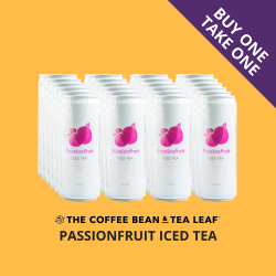 THE COFFEE BEAN & TEA LEAF® PASSIONFRUIT ICED TEA by 24s (SALE) image here
