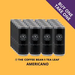 THE COFFEE BEAN & TEA LEAF® AMERICANO IN CAN by 24s (SALE) image here