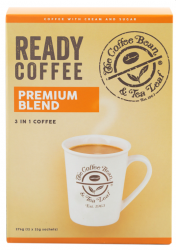 THE COFFEE BEAN & TEA LEAF® READY COFFEE 3-IN-1 PREMIUM BLEND image here