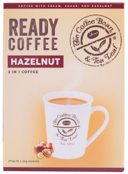 THE COFFEE BEAN & TEA LEAF® READY COFFEE 3-IN-1 HAZELNUT BLEND image here