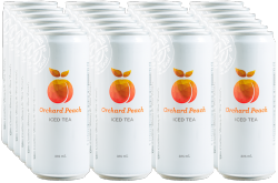 THE COFFEE BEAN & TEA LEAF® ORCHARD PEACH ICED TEA by 24s image here