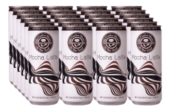 THE COFFEE BEAN & TEA LEAF® MOCHA LATTE IN CAN by 24s image here