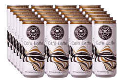 THE COFFEE BEAN & TEA LEAF® CAFÉ LATTE IN CAN by 24s image here
