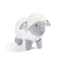 WELCOME TO THE WORLD SOFT TOY SHEEP image here