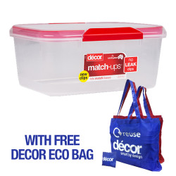 MATCH UPS CLIP STORAGE CONTAINER, 7L  232500 image here