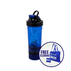 Décor, Power Protein Shaker 800ml, BLUE, 235500B  image here