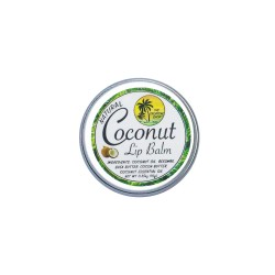 The Tropical Shop,Natural Coconut Lip Balm,4809015539125 image here