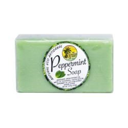 The Tropical Shop,Natural VCO Artisanal Peppermint Soap,4809015539330 image here