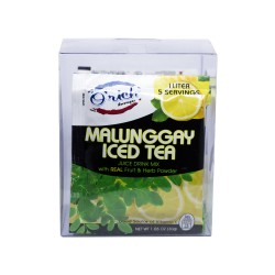 Orich,Malunggay Ice Tea Juice Drink Mix 12 Sachets,4806508788329 image here