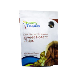 Orich,Healthy Tropics Sweet Potato Chips Barbecue Flavor 100g,4806508788220 image here