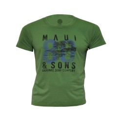 Maui and sons, Round neck tshirt, Green, 400147.OLV image here