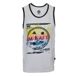 Maui and sons, Roundneck sando, White, 410146.wht image here