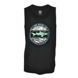 Maui and sons, Roundneck sando, Black, 410147.BLK C image here