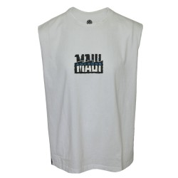 Maui and sons, Roundneck Muscle Shirt, White, 415046.WHT image here
