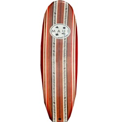 Maui and sons, Red soft surfboard, MSA6015.Red soft surfboard image here