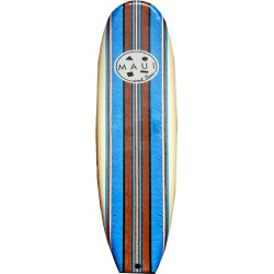 Maui and sons, Blue Soft Surfboard, MSA6014.Blue Soft surfboard image here