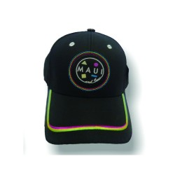 Maui and sons, Cap, Black, MSA4013.BLACK image here