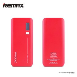 Remax Proda Jane V10i series Power bank 20000 mAh Red image here