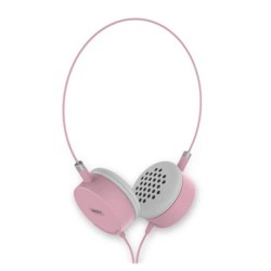 Remax, Portable Wired Light Weight Headphone RM910 Pink,pink,Portable Wired Headphone RM910 Pink image here