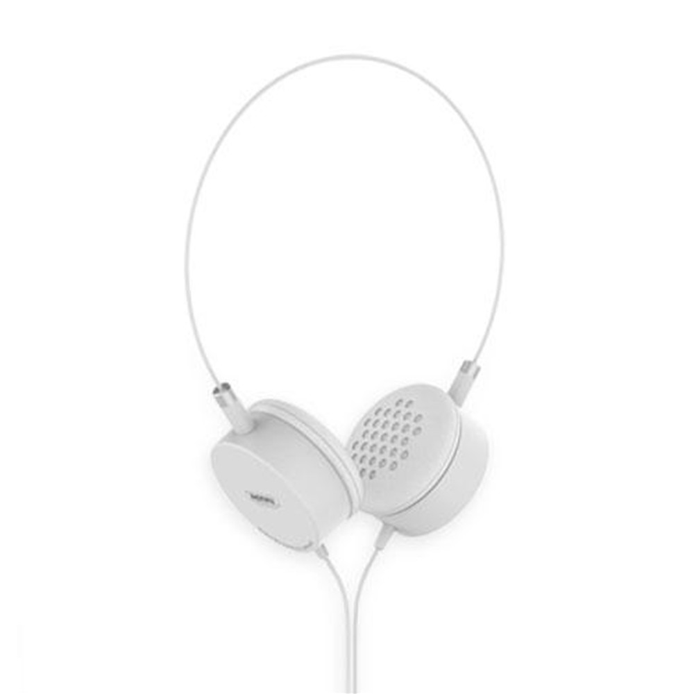 Remax Portable Wired Light Weight Headphone RM 910 White image here
