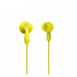 Remax, Candy HiFi Earphone RM301 Yellow,yellow,Candy HiFi Earphone RM301 Yellow image here