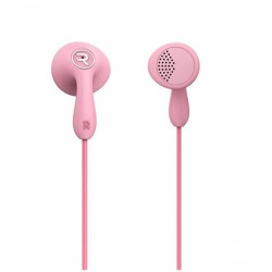 Remax, Candy HiFi Earphone RM301 Pink,pink,Candy HiFi Earphone RM301 Pink image here