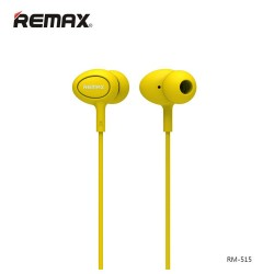 Remax, In Ear Headset RM 515 Yellow,yellow,In Ear Headset RM 515 Yellow image here