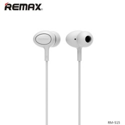 Remax, In Ear Headset RM 515 White,white,In Ear Headset RM 515 White image here