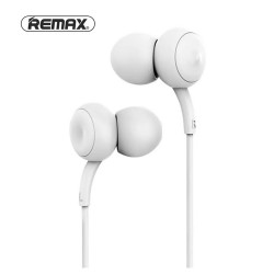 Remax, Concave-convex earphone RM 510 White,white,Concave-convex earphone RM 510 White image here