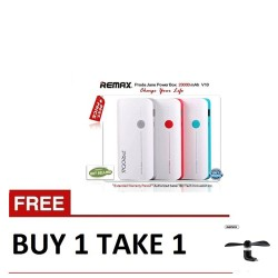 Remax, Jane V10 20000mAh Power bank with free mini usb Red ,red,Jane V10 20000mAh with free mini usb Red image here