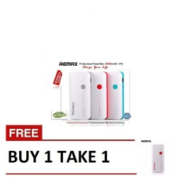 Remax, Jane V10 Powerbank 20000mAh B1T1 Red ,red,Jane V10 Powerbank 20000mAh B1T1 Red image here
