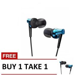 Remax, Stereo Metal Earphone RM 575 Pro B1T1 Blue ,blue,Stereo Metal Earphone RM 575 Pro B1T1 Blue image here
