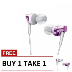Remax, Stereo Metal Earphone RM 575 Pro B1T1 Purple image here