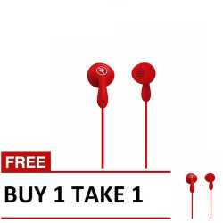 Remax,, Remax, Candy HiFi Earphone RM301 Buy1 Take 1 Red, red, Candy HiFi Earphone RM301 Red B1T1,red,Candy HiFi Earphone RM301 Red B1T1 image here