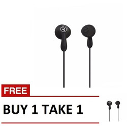 Remax,, Remax, Candy HiFi Earphone RM301 Buy 1 Take 1 Black, black, Candy HiFi Earphone RM301 Black B1T1,black,Candy HiFi Earphone RM301 Black B1T1 image here