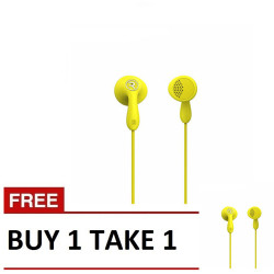 Remax,, Remax, Candy HiFi Earphone RM301 Buy1 Take 1 Yellow, yellow, Candy HiFi Earphone RM301 Yellow B1T1,yellow,Candy HiFi Earphone RM301 Yellow B1T1 image here