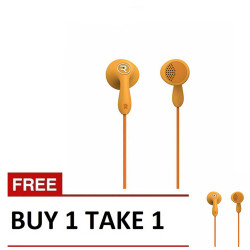 Candy HiFi Earphone RM301 Orange B1T1 image here