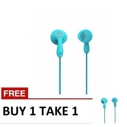Remax,, Candy HiFi Earphone RM301 Blue Buy 1 Take 1 image here