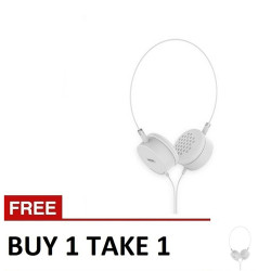 Remax, Portable Wired Headphone B1T1 RM910 White,white,Portable Wired Headphone B1T1 RM910 White image here