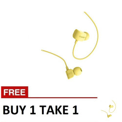 Remax,, Crazy Robot Earphone Buy 1 Take 1 RM 502 Yellow image here