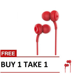 Remax, Concave-convex earphone B1T1 RM 510 Red,red,Concave-convex earphone B1T1 RM 510 Red image here