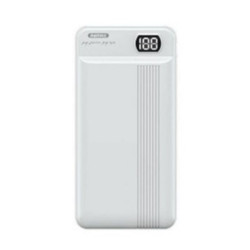 Remax 20000mAh Power Bank Dual Input And Output With LED Display RPP-106 Whyite image here
