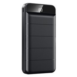 Remax 20000mAh High Speed Charging Powerbank for Mobile Phones with LED Display RPP-140 Black image here