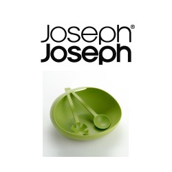 Joseph Joseph Salad Bowl and Servers (Green) image here