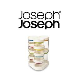 Joseph Joseph Spice Store Carousel - White ,81003 image here