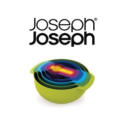 Joseph Joseph Nest 9 Plus, 9-Piece Nesting Set - Multi-Colour ,40031 image here