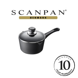 SCANPAN Classic Saucepan with Lid - 18cm, 1.5L (with 10 year warranty) image here